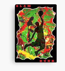 SLAM DUNK BASKETBALL PLAYER Canvas Print