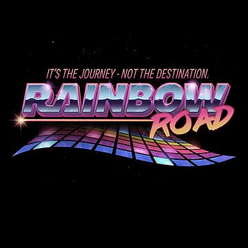 Rainbow Road by brownbair