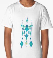 Vintage ethnic tribal aztec ornament  Long T-Shirt