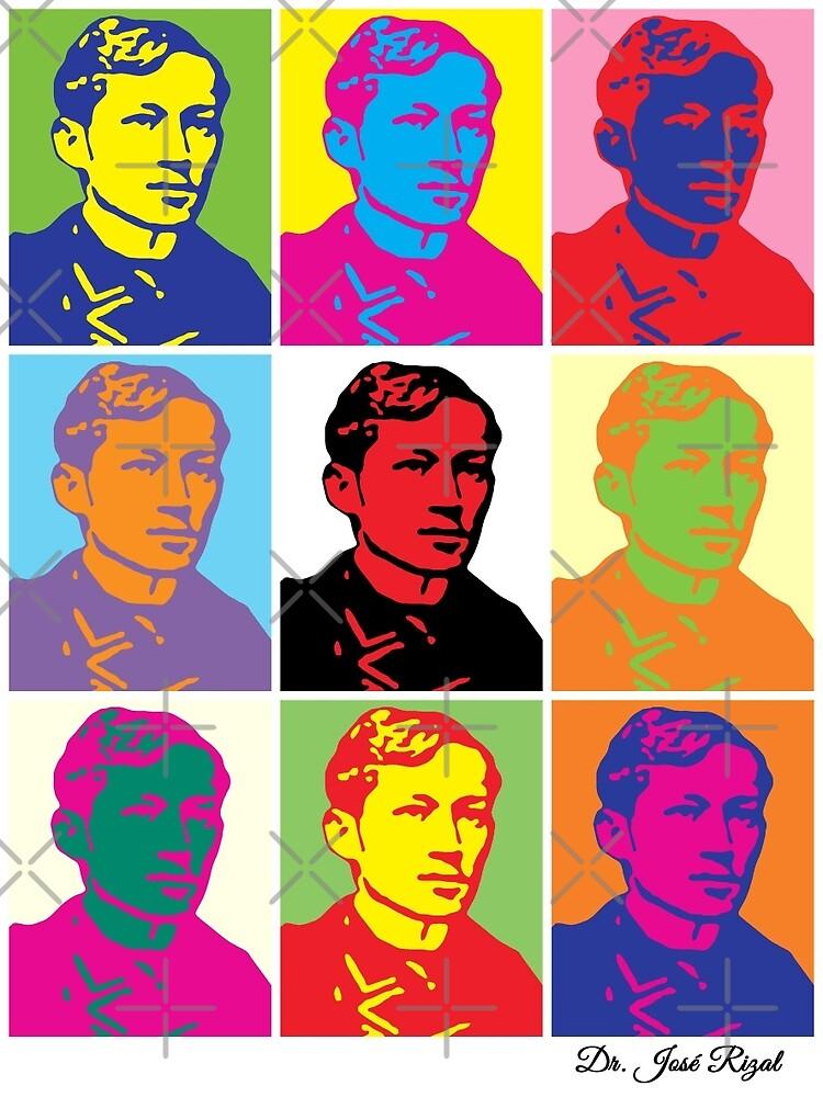 Jose Rizal Warhol by kayve
