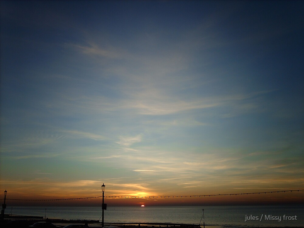 Hunstanton The last look at the sun by jules / Missy frost