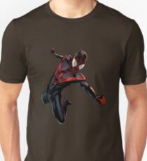 Black Spider Morales Miles in cust T-Shirt