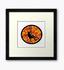 A Repelling Dream Framed Print
