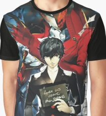 Me and My Joker Persona Graphic T-Shirt