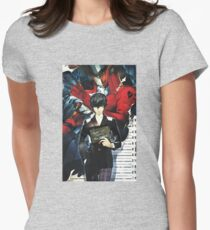 Me and My Joker Persona Womens Fitted T-Shirt