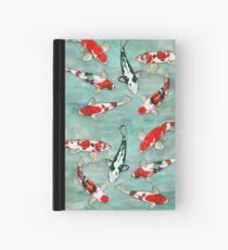 Le ballet des carpes koi Hardcover Journal