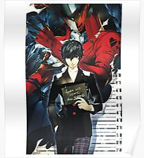Me and My Joker Persona Poster