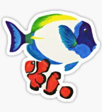 Salt water fish Sticker