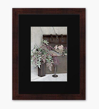 Treasure Chest of Memories Framed Print