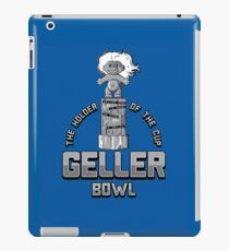 Geller Bowl (Holder of the Geller Cup) - Friends iPad Case/Skin