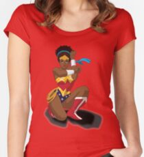 Wonder Woman Clothing Women's Fitted Scoop T-Shirt