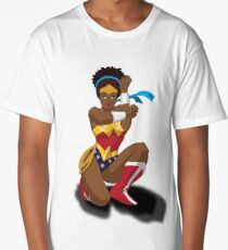 Wonder Woman Clothing Long T-Shirt