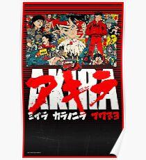 Akira. Manga / Anime.  Poster