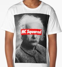 Albert Einstein MC Squared Supreme Long T-Shirt