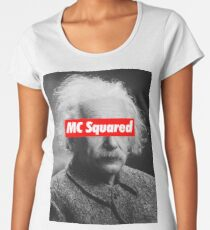 Albert Einstein MC Squared Supreme Women's Premium T-Shirt