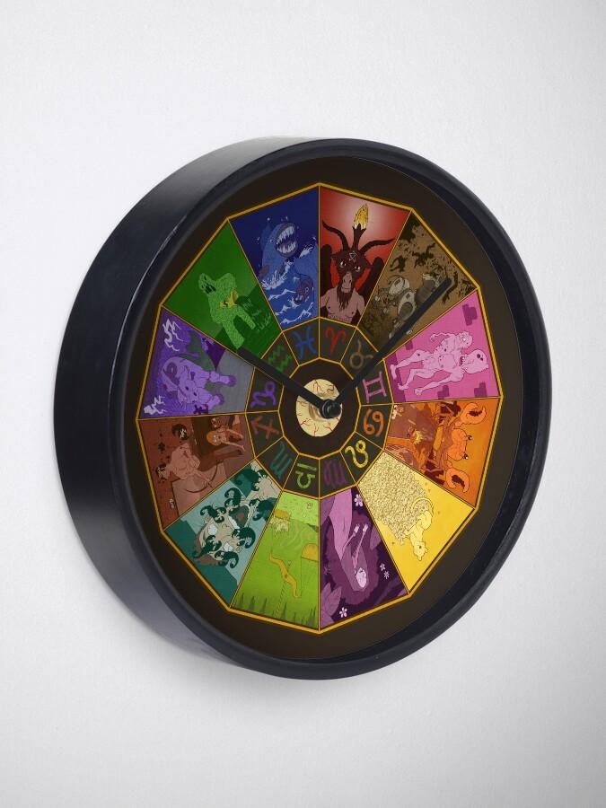 Alternate view of Horrorscope™ Clock