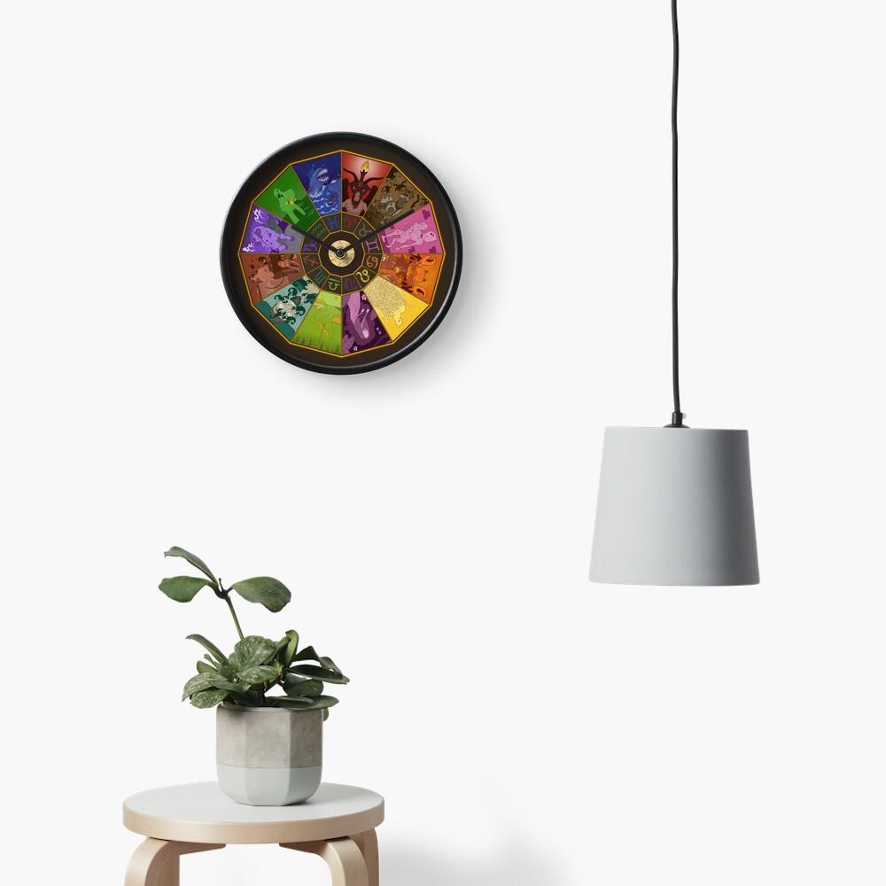 Horrorscope™ Clock