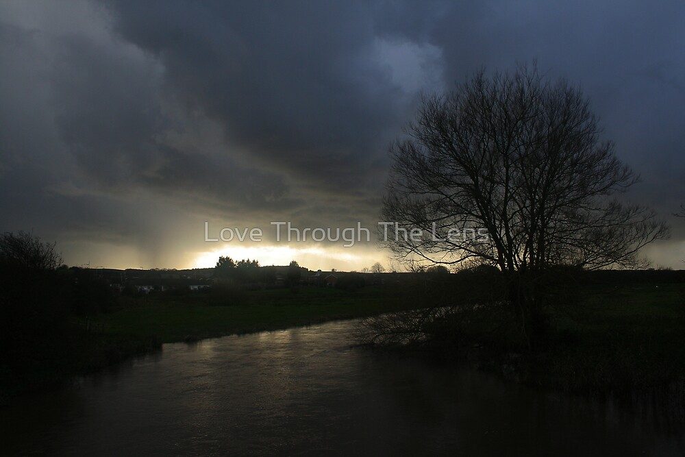 A view across a river, Dorset by Love Through The Lens