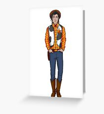 Carry On - Vaqueros Greeting Card