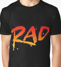 RAD BMX MOVIE 1986 Graphic T-Shirt