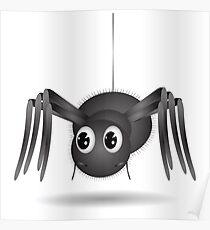 Cartoon Spider Poster