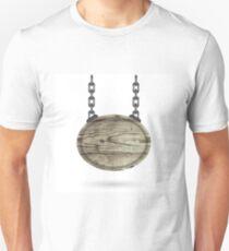 wood sign Unisex T-Shirt