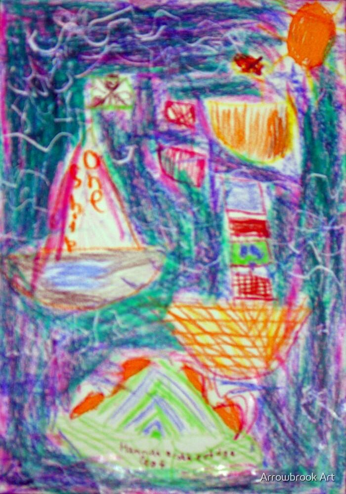 Stormy Sea - Hannah B  by John Brotheridge