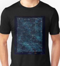 USGS TOPO Map Iowa IA Farley 174647 1900 125000 Inverted T-Shirt