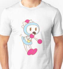 Singing Light Blue Bomber Unisex T-Shirt