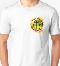 Saiyan Symbol Chest Warrior from kamehouse gym power from another world Unisex T-Shirt