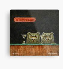 Will Bullas Kunstdruck / die Hooters ... / Humor / Tiere Metallbild