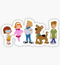 Young Scooby Doo Sticker