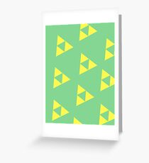 Simply Tri-Force Greeting Card