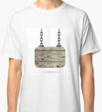 wood board Classic T-Shirt