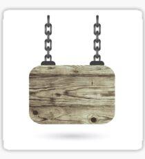 wood board Sticker