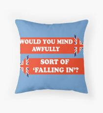 Dad's Army –Would You Mind Awfully...? Throw Pillow