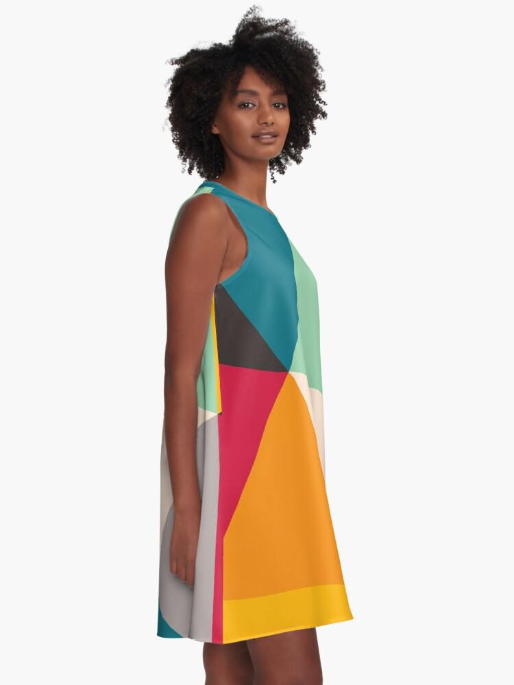 Alternate view of Triangles (2012) A-Line Dress