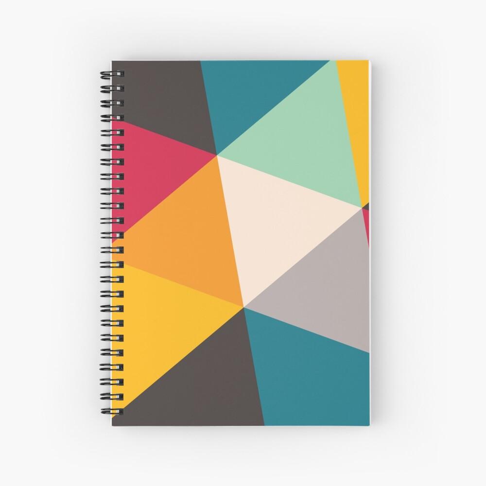 Triangles (2012) Spiral Notebook
