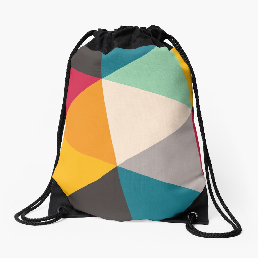 Triangles (2012) Drawstring Bag