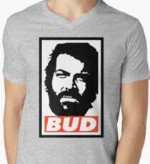 BUD Men's V-Neck T-Shirt