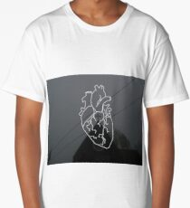 heart  Long T-Shirt
