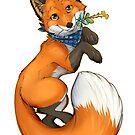 Summer Fox by aunumwolf42