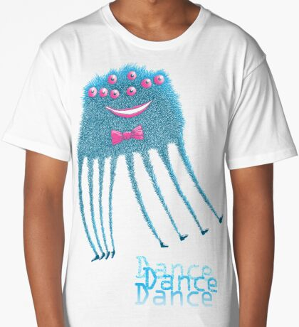 Techno Dance Disco Spider Long T-Shirt