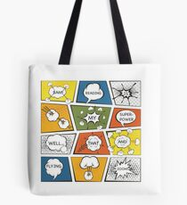 Reading Is My Super Power Well That And Flying for Comic Book & Graphic Novel Fans Tote Bag