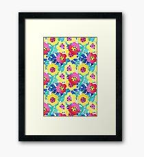 Watercolor summery bloom Framed Print