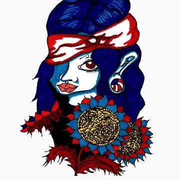 American Girl by MissOdd