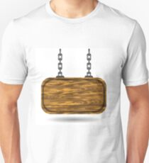 wooden sign T-Shirt