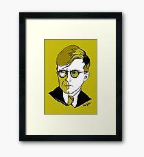 Russian Composer Dmitri Shostakovich Framed Print