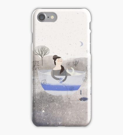 Living In A Cup Of Snow iPhone Case/Skin