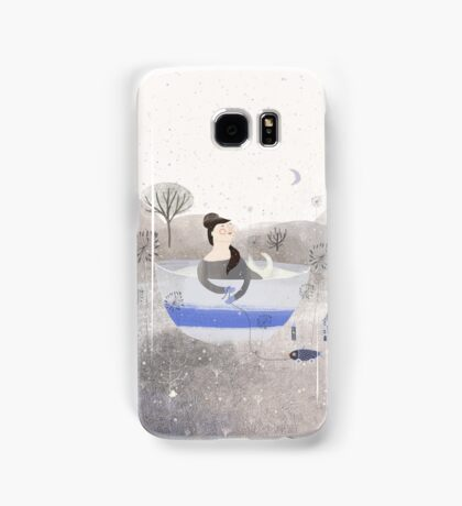 Living In A Cup Of Snow Samsung Galaxy Case/Skin